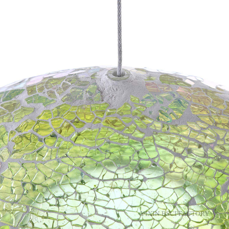 Large Round Mirror Candle Plate